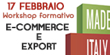 Prato cresce con il digitale - workshop del 17 Febbraio su E-commerce e Export